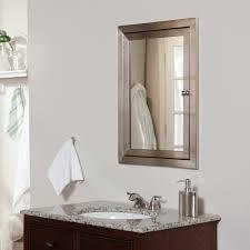 Recessed Bathroom Medicine Cabinets Afina Single Door Radiance Recessed Contemporary Medicine Cabinet