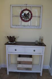 ana white entryway table diy projects