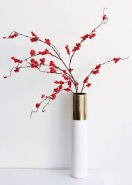Branches In A Vase Cherry Blossom Branches Decorative Faux Branches At Afloral Com