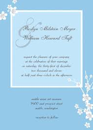 Wedding Card Examples Invitation Card Sample