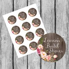 bridal shower favor tags printable custom bridal shower stickers