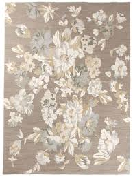 new contemporary handmade wool 8x10 large flower area rug carpet brown