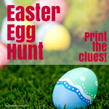 Easter Scavenger Hunt Easter Egg Hunt With Clues U2022 The Crafty Mummy