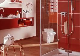 badezimmer rot wandgestaltung im badezimmer living at home