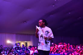 bad and boujee migos performed u201cbad and boujee u201d in lagos and the crowd went crazy