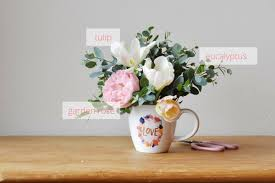 flower arrangements how to make coffee cup flower arrangements recipes roses