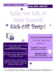 lexus in west kendall relay for life kick off party at lexus west kendall 10 20 09 the