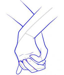 coloring pages exquisite drawing hands holding hand something