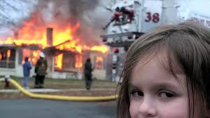 Fire Girl Meme - know your meme disaster girl youtube