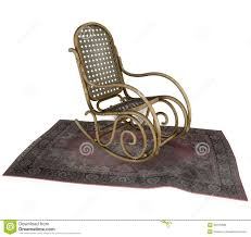 Chair Jpg Rocking Chair Drawing Rocking Chair On Old Rug Stock Illustration Image Of Isolated