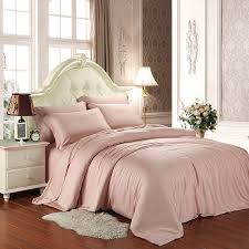 Girls Western Bedding by Pale Pink Plain Color Simply Chic Noble Excellence Luxury Western