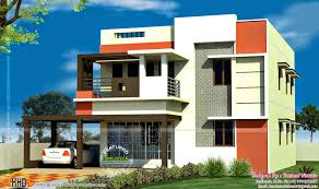 Single Story Flat Roof House Designs House Plans Tamilnadu Style Amazing House Plans