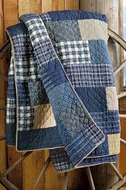 weathered blues quilt eddie bauer home decor pinterest