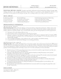 Sample Retail Management Resume by Resume In Retail Free Resume Example And Writing Download