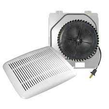 bath fan upgrade kit with light broan 3 sones 60 cfm white bathroom fan upgrade kit lowe s canada