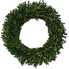 preserved boxwood wreath 21 inch preserved boxwood wreath home kitchen