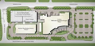 siteplan methodist medical office building pavilion 1