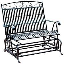 outdoor glider bench metal u2013 robsbiz