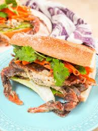 sriracha mayo nutrition bahn mi style soft shell crab sandwich caroline u0027s cooking