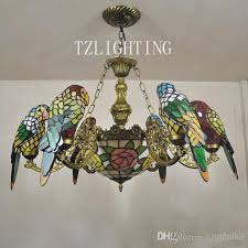 tiffany lights for sale tiffany ceiling l shades discount creative chandelier six parrots