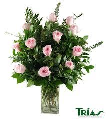 flowers miami one dozen pink roses trias flowers miami florist