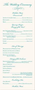 wedding ceremony programs wording wedding program templates free program sles