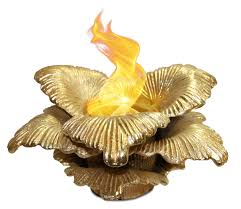 Gel Fuel Tabletop Fireplace by Chatsworth Gold Anywhere Fireplace