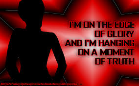 song lyric quotes in text image the edge of glory lady gaga