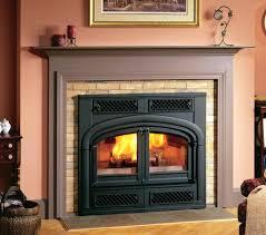 fireless fireplace insert amish flame made suzannawinter com