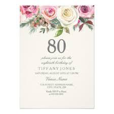 80th birthday cards u0026 invitations zazzle com au