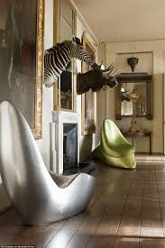 Eccentric Home Decor by Inside James Perkins U0027 Aynhoe Park Home Rave Filled With Bizarre