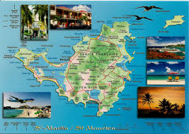 St Maarten Map France Worldwide Covers Page 2