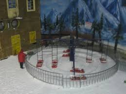 small merry go sledge ride picture of snow world