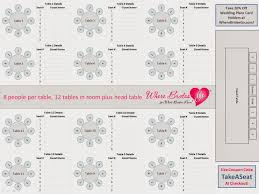Free Wedding Seating Chart Template Excel Free Wedding Seating Chart Templates You Can Customize The