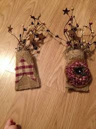 primitive decor made from empty tp roll so easy primitive how