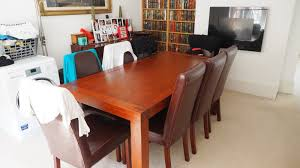 Dining Room Sets 8 Chairs Details About 9 Pc Square Dinette Dining Room Table Set And 8
