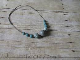 beaded cord necklace images Tutorial leather and clay bead necklace the chilly dog JPG