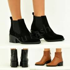 s zip ankle boots uk womens ankle boots block heel back zip booties shoes