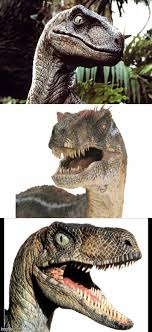 Meme Generator Velociraptor - bad pun velociraptor blank template imgflip
