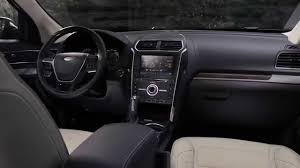 Ford Explorer Interior Dimensions 2016 Ford Explorer Interior Youtube