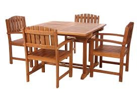 Round Teak Table And Chairs Cedar Extension Dining Table Cambridge Trestle Extension Table