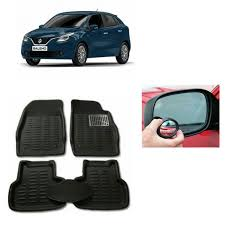 Best Blind Spot Mirror Buy V Cart 3d Car Floor Mat Maruti Baleno Black Free 2pcs Blind