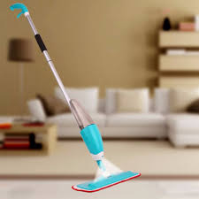Floor Cleaning Machine Home Use by New Version 2 Colors Environmental Water Home Used Spray Mop For