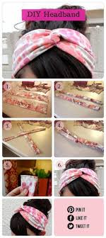 fabric headbands beautiful and simple diy headband tutorials pretty designs