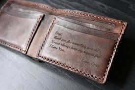leather anniversary gift ideas for him men s leather wallet personalized leather wallet handmade