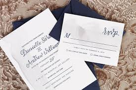 wedding invitation sles navy and silver painted wedding invitations