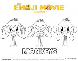 20 amazing emoji movie coloring pages