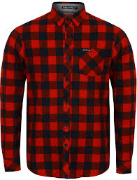 Flannel Shirts Alhambra Checked Flannel Shirt In Navy Tokyo Laundry