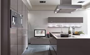 inspiring contemporary grey kitchens design with built in grey