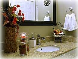 ideas on how to decorate a bathroom fall bathroom decorating ideas involvery community
